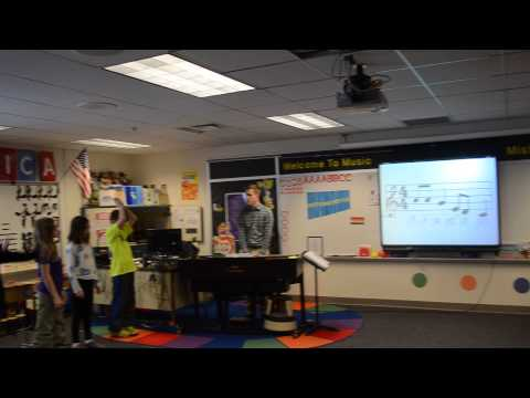 Teaching Solfege And Melody Cards Using Body Signs: William C Doublestein