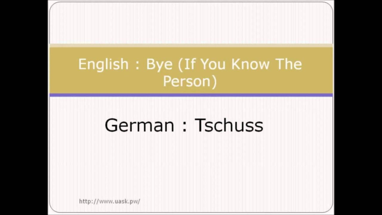 How to say hello in german greetings in german language youtube how to say hello in german greetings in german language m4hsunfo