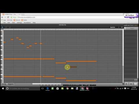 Soundation tutorial 4: realistic piano melody