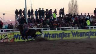 Jennifer Saenz en Rodeo Wrangler Chihuahua 2012