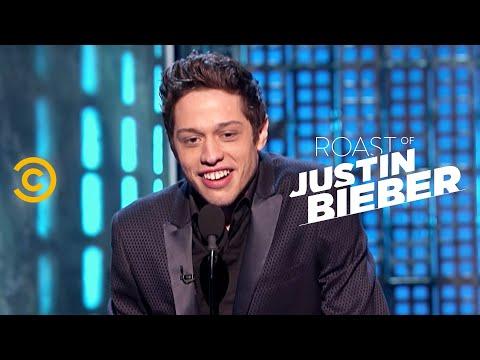 Roast of Justin Bieber - Pete Davidson - Comparing Fathers - Uncensored