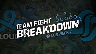 Team Fight Breakdown with Jatt: C9 vs CLG (2016 NA LCS Spring Week 7)