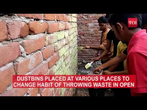Architecture students in Jaipur turn slum into a 'kingdom of colours'