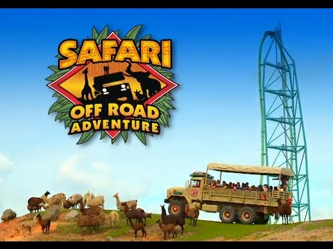 Safari Off Road Adventure - Six Flags Great Adventure - New for 2013