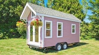 Stunning Modernthe Tiny Pink House   Lovely Tiny House