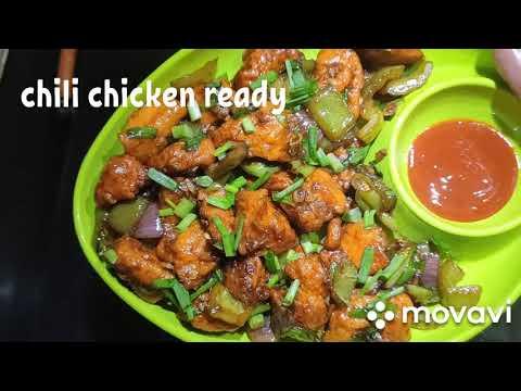 Chilli Chicken Recipe   Spicy Chilli Chicken  Chicken Fry Recipe   Chicken 65 Recipe