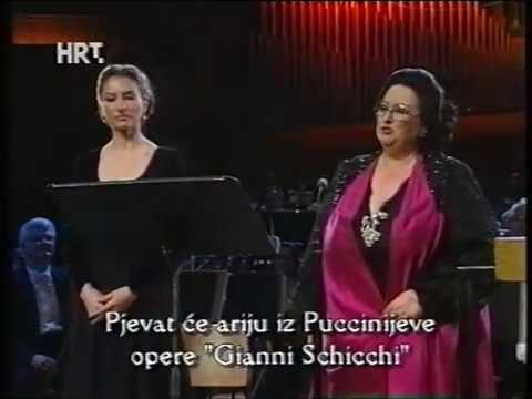 Montserrat Caballe - Montserrat Marti - Zagreb 1997