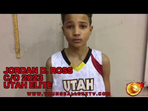 YoungBallerzTV :Jordan Ross & Ryan Beasley c/o 2023 Utah Elite Back Court !