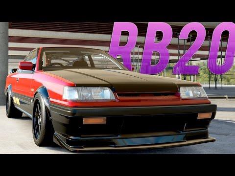 STREET SCREAMER! RB20 R31 Skyline (ROCKSTAR DLC) (Drift Build/Tune) - BDK Live | Forza Horizon 3