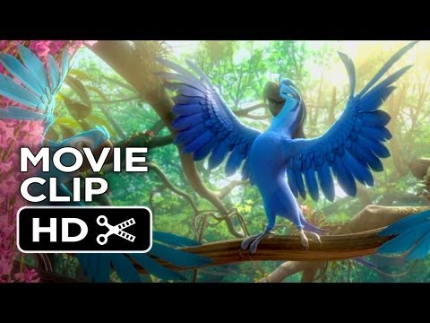 Rio 2 Movie CLIP - Welcome Back (2014) Jesse Eisenberg, Bruno Mars Animated Movie HD