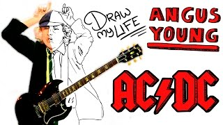 ANGUS YOUNG (AC/DC)| Draw My Life