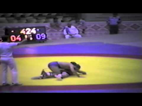 1983 Senior World Championships: 74 kg Ken Bradford (CAN) vs. Dave Schultz (USA)