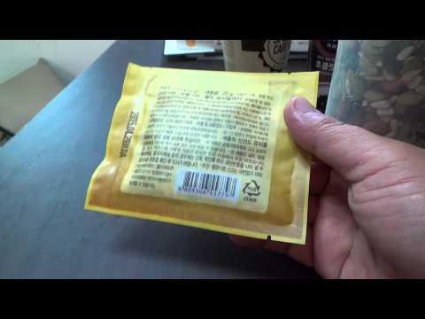 황금호두가 전하는 하루한줌 견과, 휴대하고 다니면서 먹는 견과류 믹스 시식기