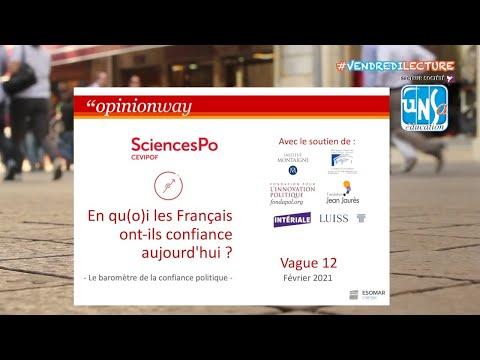 """""""En qu(o)i les Français ont-ils confiance aujourd'hui ?"""" - Luc Rouban"""