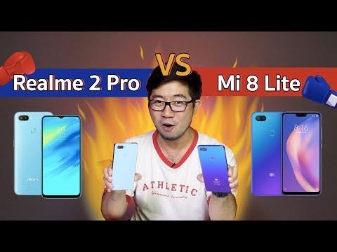 ชนทุกช็อต Realme 2 Pro ปะทะ Mi 8 Lite เดือดสุดในสเปคนี้ - วันที่ 05 Dec 2018