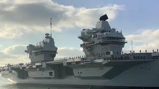 Hms Queen Elizabeth Returns Home To Portsmouth After Westlant 19 Deployment