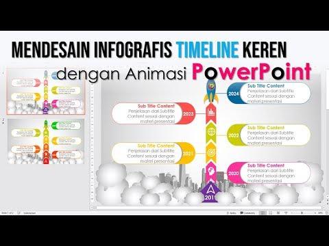 Cara Membuat InfoGrafis TimeLine yang Keren dengan PowerPoint