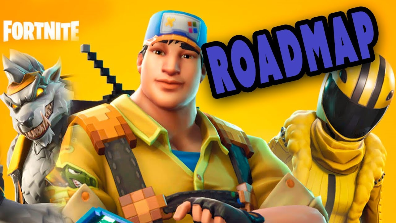 Fortnite STW Hit-the-Roadmap   What's happening in Fortnite Save the World