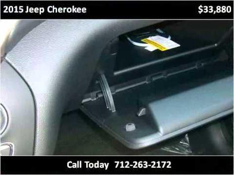 2015 Jeep Cherokee New Cars Denison Ia Youtube