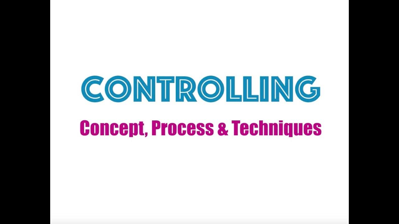 Download Controlling - Concept, Process & Techniques