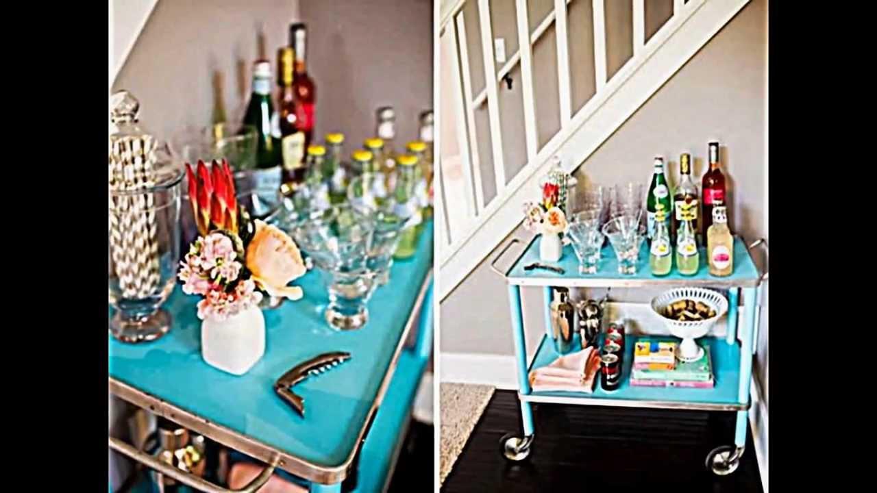 12 originelle DIY Ideen zum Einrichten Ihrer kleinen eigenen Hausbar ...