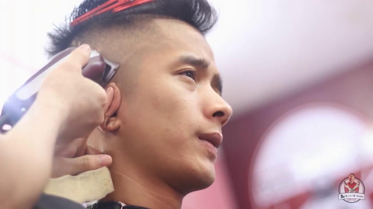 Kiểu tóc vuốt mái ngắn khoẻ mạnh cho nam giới 2018