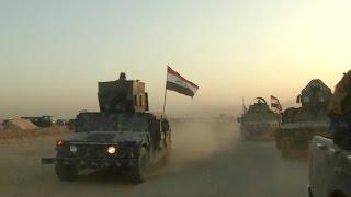 شاهد..القوات العراقية خلال حربها لتحرير الموصل