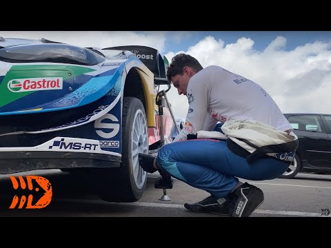 Accident Damage Roadside Repairs for Fourmaux - 2021 WRC Rally Spain
