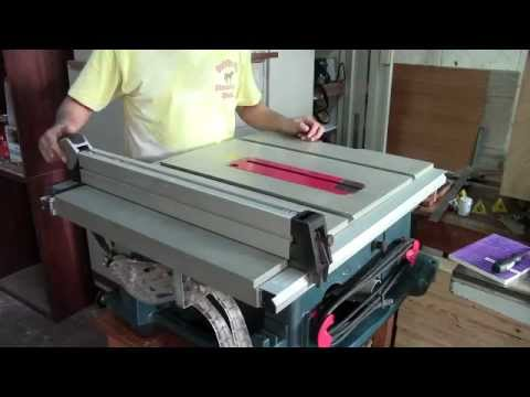 Bosch 4100 tablesaw maintenance youtube bosch 4100 tablesaw maintenance greentooth Choice Image