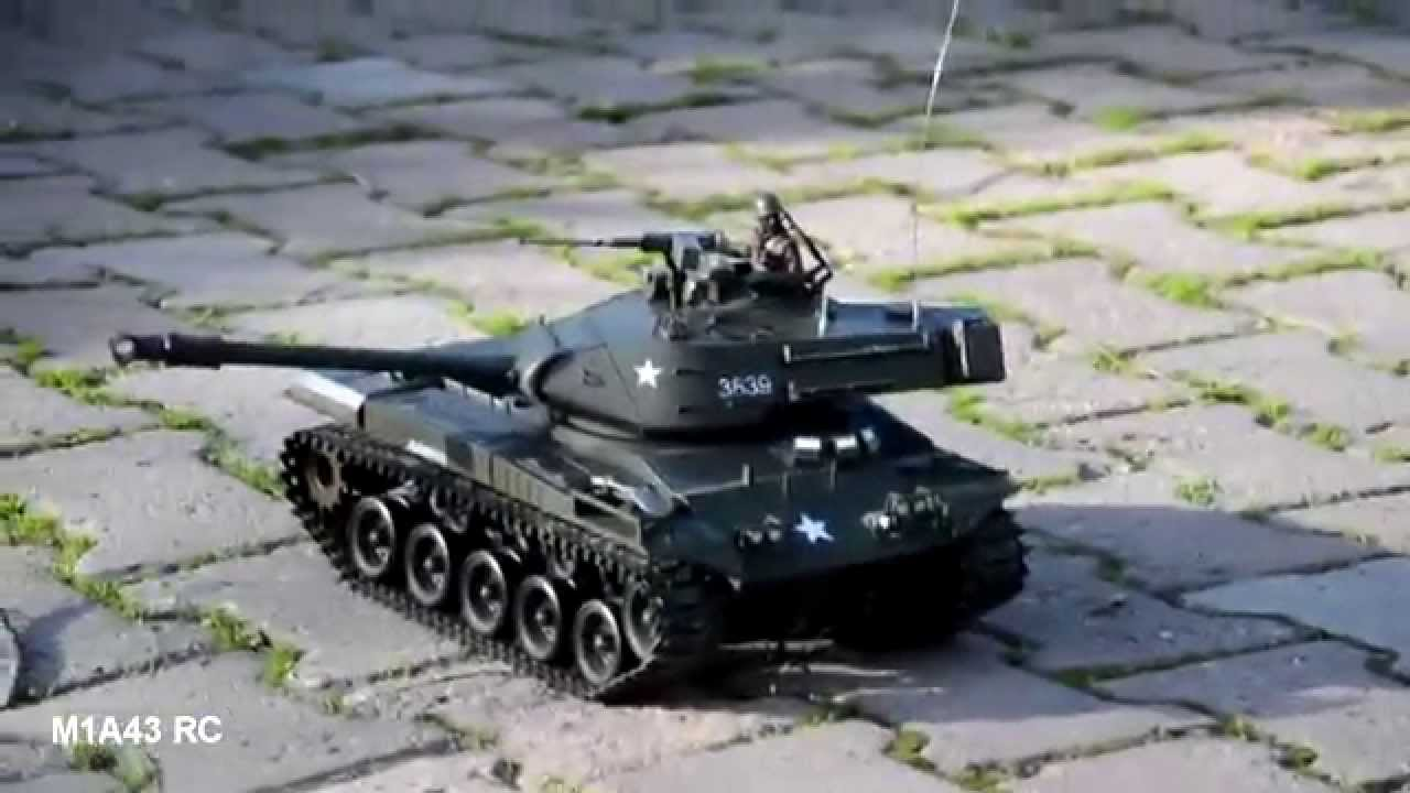 1//16 RC Battle Tank: U S  M41A3 BULLDOG ---- Smoking and