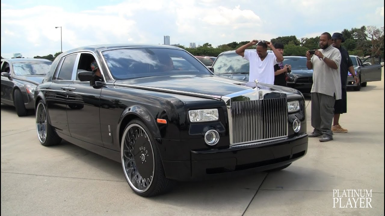 Rolls Royce Phantom On 26 Inch Rucci Ize Detroit Youtube