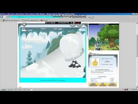Neopets- The Worst Snow Roller Player In The WORLD (LITERALLY!)