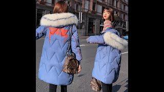 Новое поступление модные женские зимние куртки 2021 высокое качество дамское пальто длинная парка