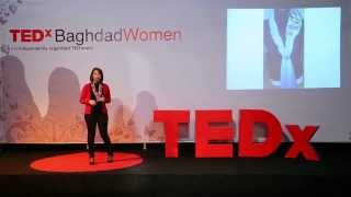 Noor Jawad at TEDxBaghdadWomen