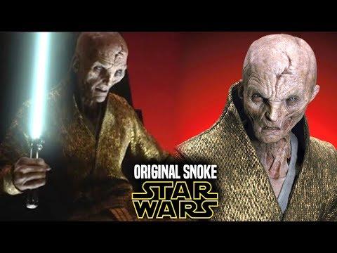 Star Wars! Original Snoke Explained & More! Rian Johnson (Star Wars News)