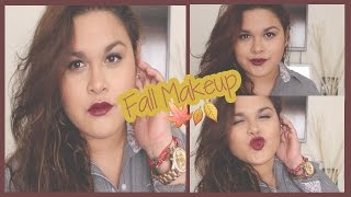 FALL INSPIRED MAKEUP/Maquillaje para otoño Thumbnail