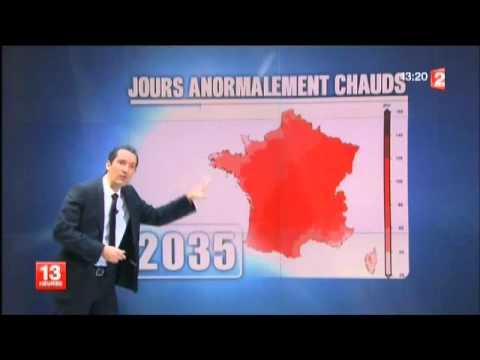 La météo en France en 2085