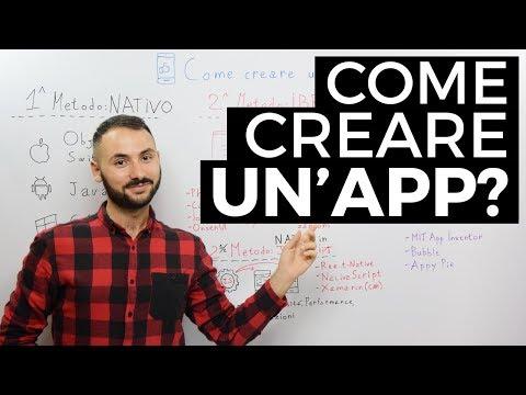 Come creare un'app: native, ibride e senza programmare