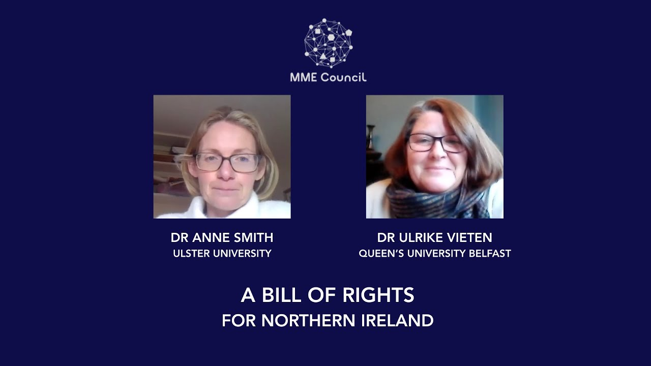 A Northern Ireland Bill of Rights