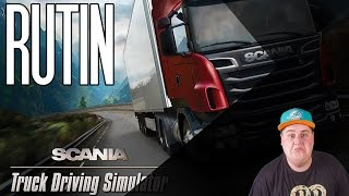 Scania Truck Driving Simulator | RUTIN VIZSGA