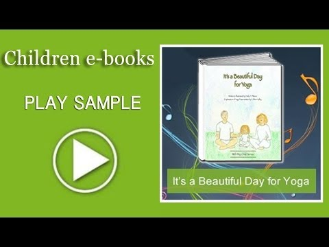 Children's ebook Music Trailer- It's a Beautiful Day for Yoga