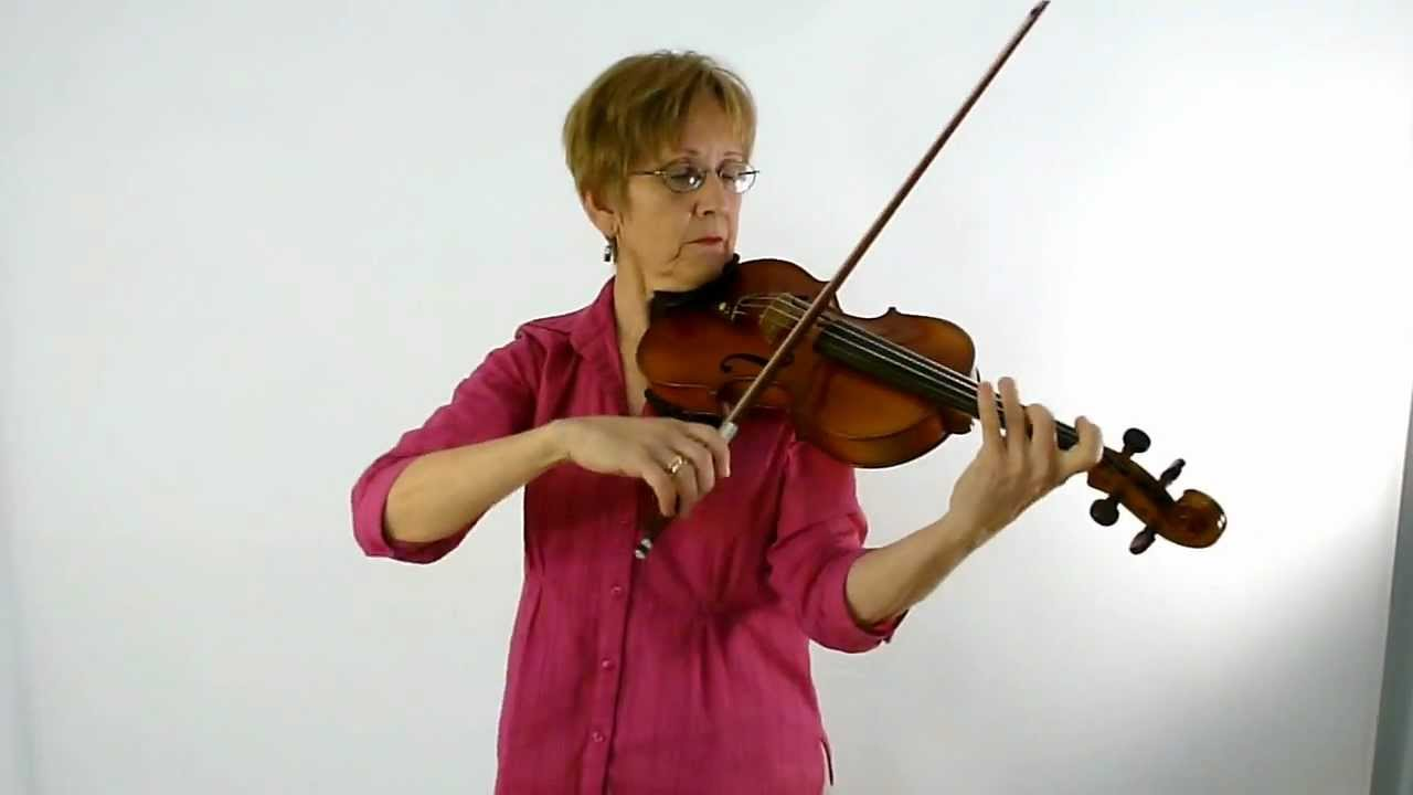 Violin Class 61B: Bourree by Bach, second half