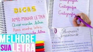 Baixar COMO TER A LETRA BONITA | Dicas de caligrafia