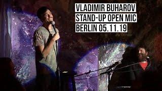Vladimir Buharov Stand-up. Berlin 05.11.19