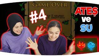 ATEŞ VE SU OYUNU   Part 4   Eğlenceli Video - Funny Games Fenomen Tv