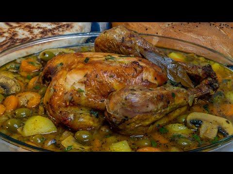 poulet-aux-olives-(recette-du-maghreb)---tajine-zitoune
