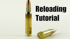 How To/DIY: Reload/Handload .308 Winchester (7.62x51mm NATO)