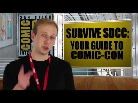 Survive SDCC: Your Guide to Comic-Con