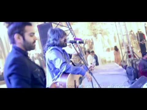Pritam performing live with Nakash Aziz, Sreeram, Aditi Singh & Antara Mitra