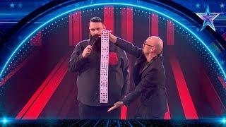 La MAGIA de BLAKE hace que RISTO dé un BESO a su ayudante | Semifinal 3 | Got Talent España 5 (2019)